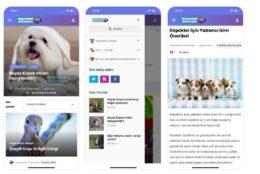 Hayvanlar Aleminde uygulaması iOS ve Andorid'de yayında!